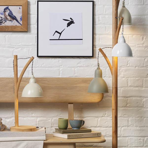 Blyton Table & Floor Lamp