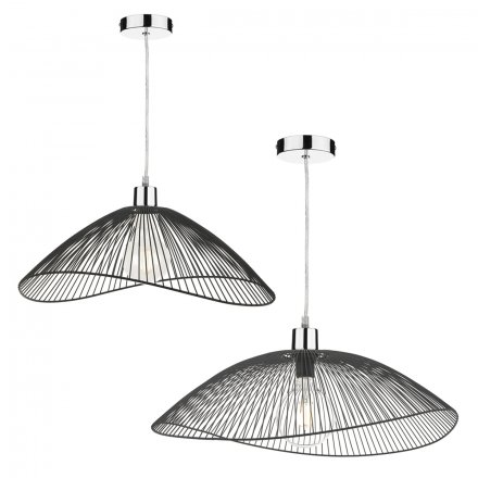 Onza Easy Fit Pendant Black Twin Pack