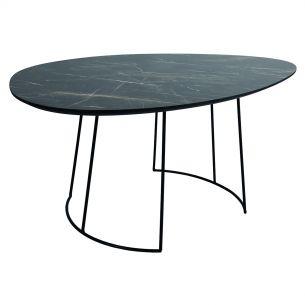 Agoston Coffee Table Dark Marble