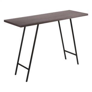 Lobo Console Table Dark Oak Veneer
