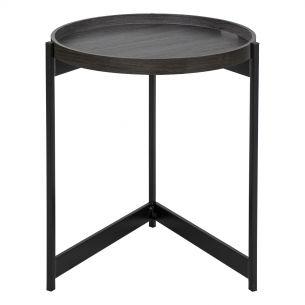 Tomal Round Table Dark Oak Style Veneer