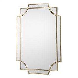 Guapo Rectangle Gold Detail Mirror 90 X 60CM