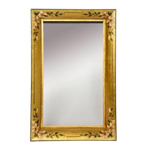 Isra Rectangle Gold Mirror 80 X 60CM