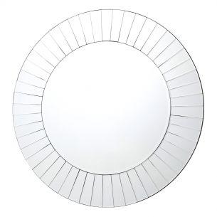 Lahaina Bevelled Round Mirror 80cm