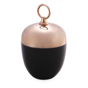 CANDLE HOLDER BLACK COPPER