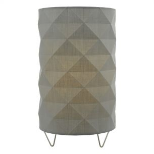 Aisha Table Lamp complete with Grey Shade