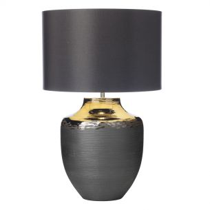Asya Table Lamp Ceramic & Black Base Only