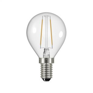 (SOLD AS 5PK) E14 LED DIM GB LAMP 4W 400LM CLEAR