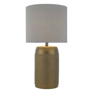 Coimbra Table Lamp Bronze C/W Shd