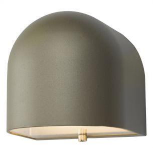 Egham Wall Light Silver LED IP44