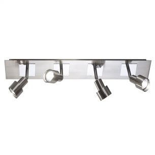 Futura 4 Light Bar in Satin Chrome
