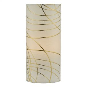 Irina Table Lamp Ivory & Gold