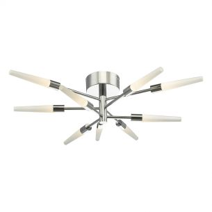 Isidora 9lt Semi Flush Polished Chrome LED
