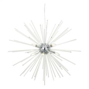 Keyla 8lt Pendant Crystal & Polished Chrome