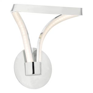 Killian Wall Light Polished Chrome & Acrylic LED
