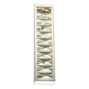 Landon Wall Light Polished Chrome & Crystal LED