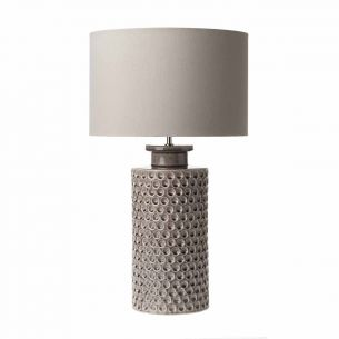 Melba Ceramic Table Lamp Mauve Base Only