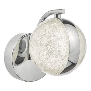 Nyma Wall Light Polished Chrome & Acrylic LED