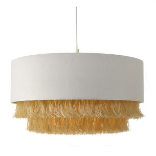 Olgia Easy Fit Pendant Ivory & Gold