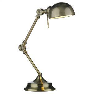 Ranger Table Lamp Antique Brass