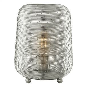 Sosha Table Lamp Nickel
