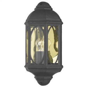 Tenby Wall Light Black IP43
