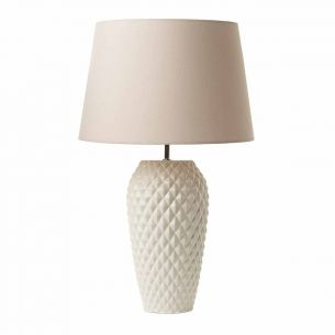 Tuille Table Lamp Cream Base Only