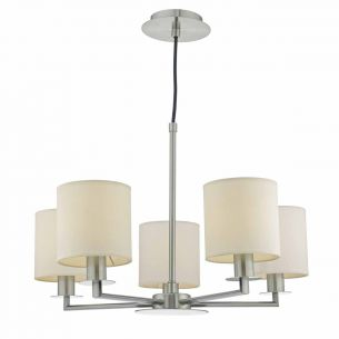 Tyler 5lt Pendant Satin Nickel