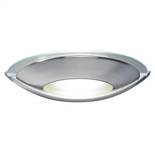 Via Wall Light Satin Chrome
