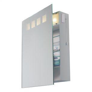 Zeus Bathroom Cabinet complete with Shaver Socket IP44