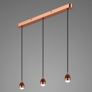 SPL 3lt Bar Pendant Copper LED