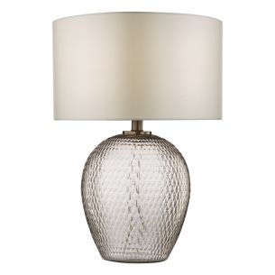Zhamo Table Lamp Bronze & Glass