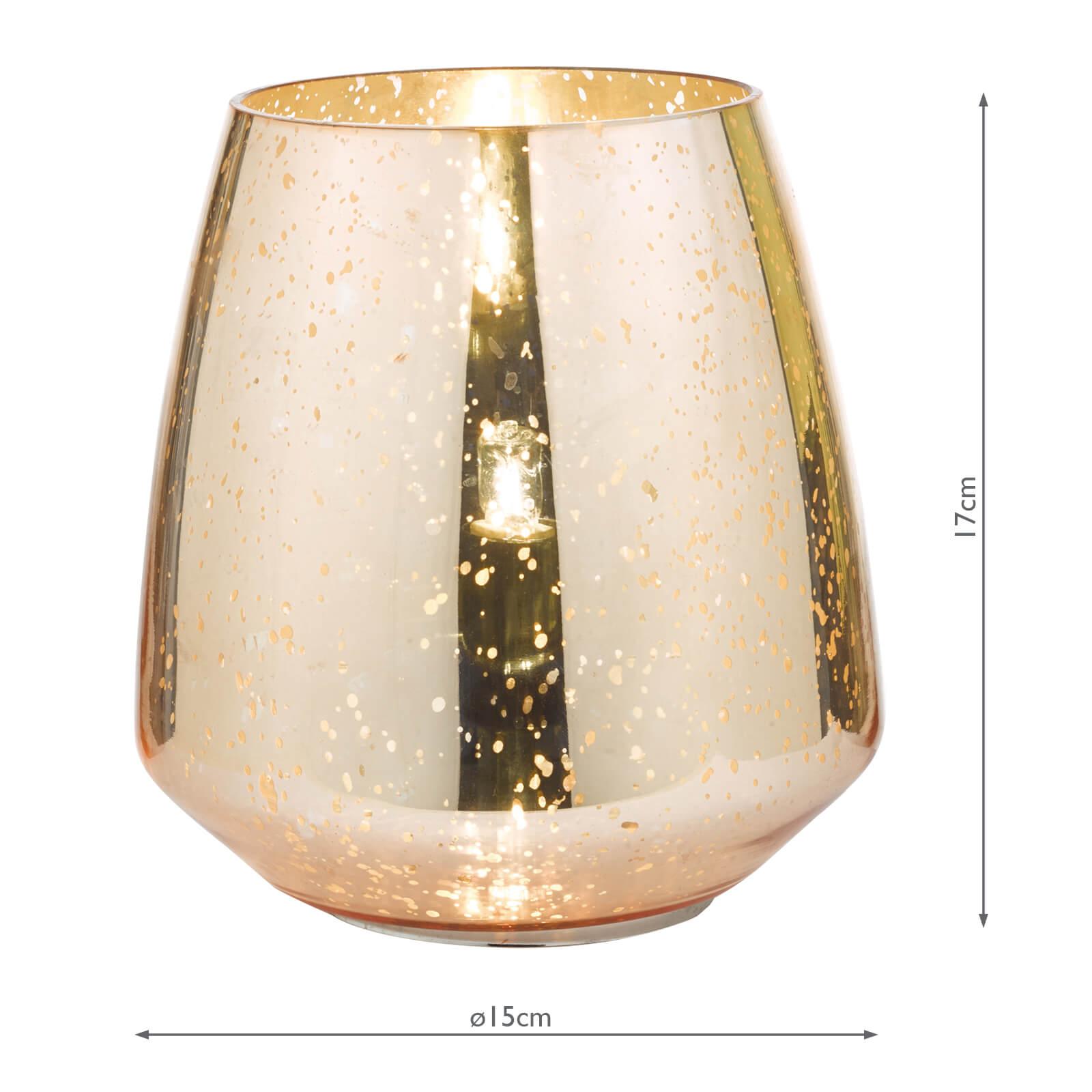 Neno Table Lamp Antique Copper Mirror